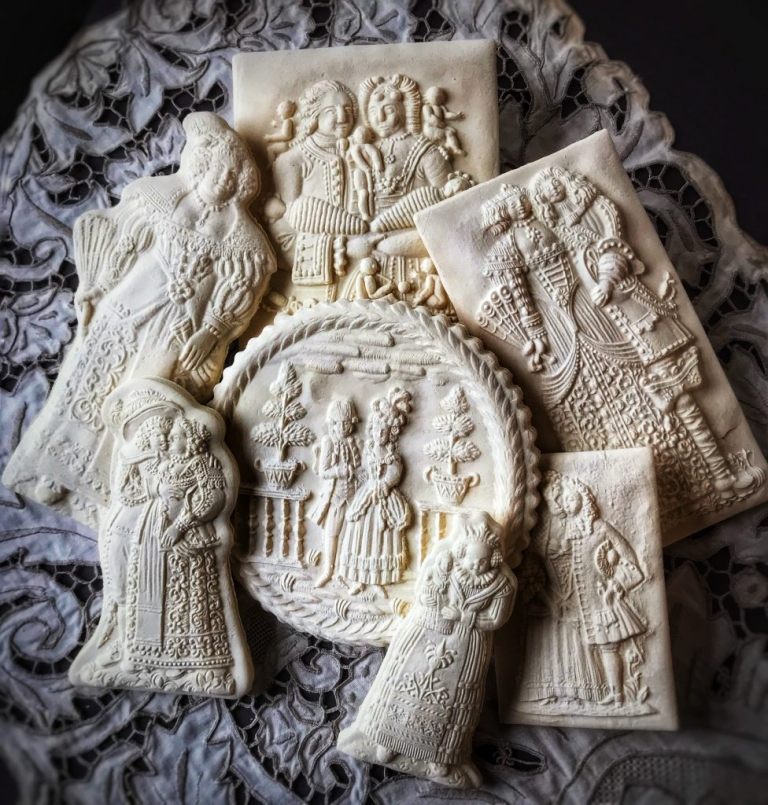 Baroque Springerle Cookie Molds